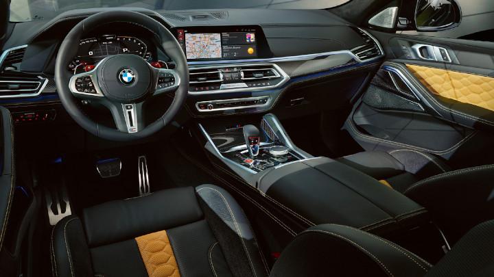 BMW X6 M Competition Interior
