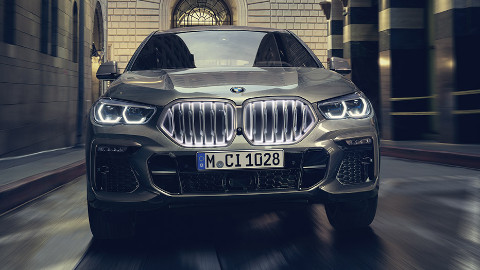 BMW X6 Exterior, Front