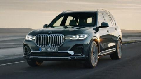 BMW X7 Driving