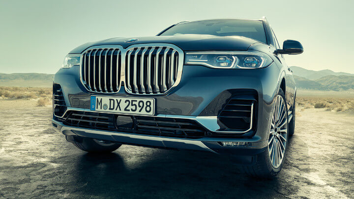 BMW X7 Exterior, Front