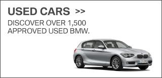 BMW Used Car SIlver