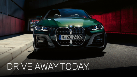 BMW Drive Away Today