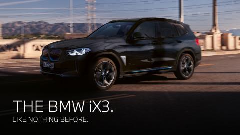 The BMW iX3