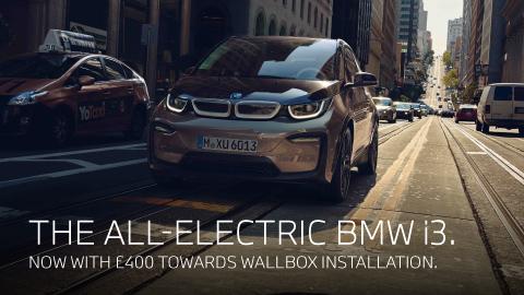 BMW i3 Wallbox Offer