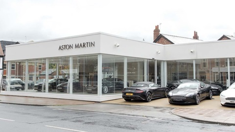 Aston Martin Wilmslow Outside