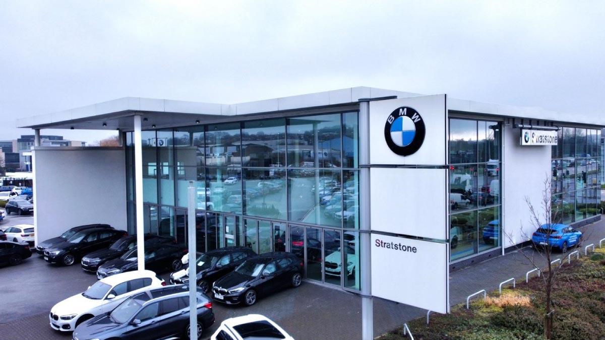 Front of BMW Leeds