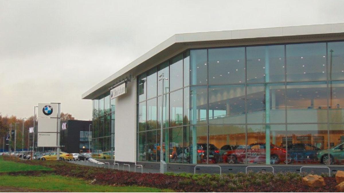 BMW Leeds Exterior