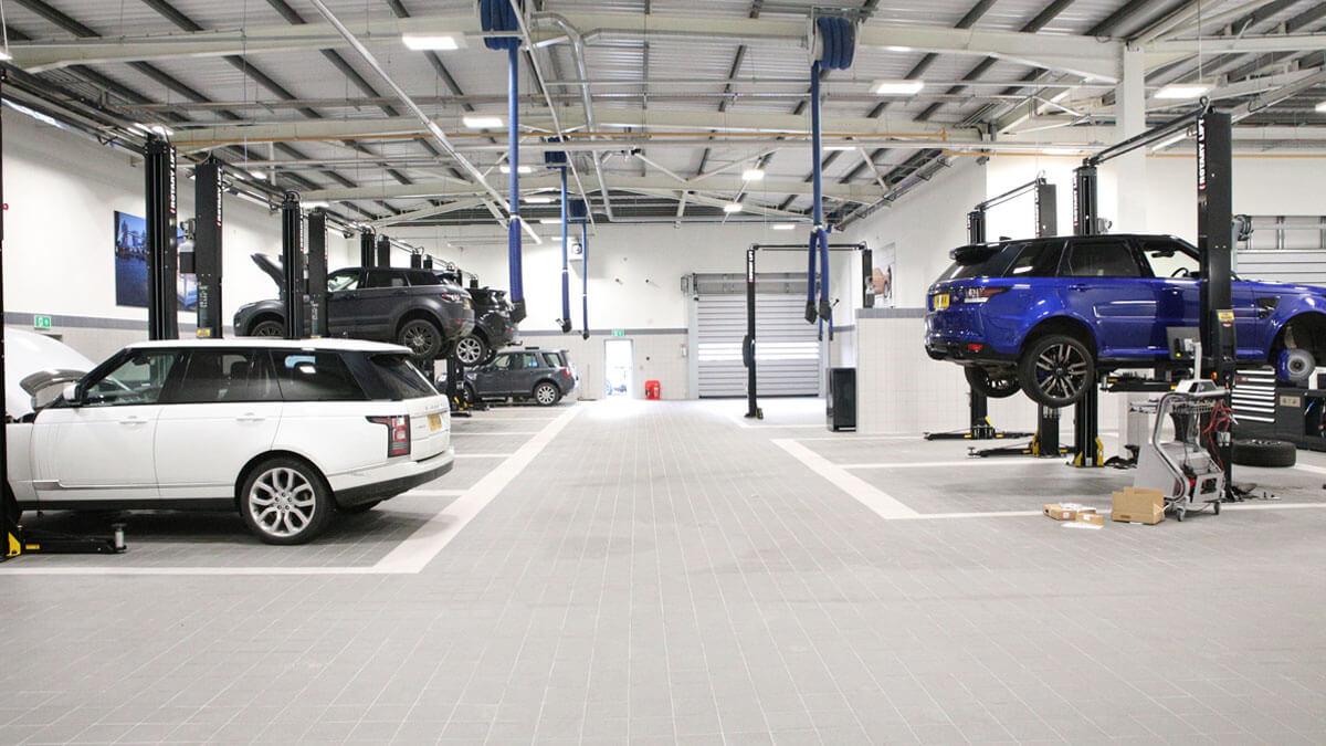 Jaguar Land Rover Servicing
