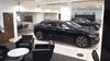 Cars inside the Jaguar Mayfair showroom