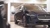 Jaguar inside the Mayfair dealership