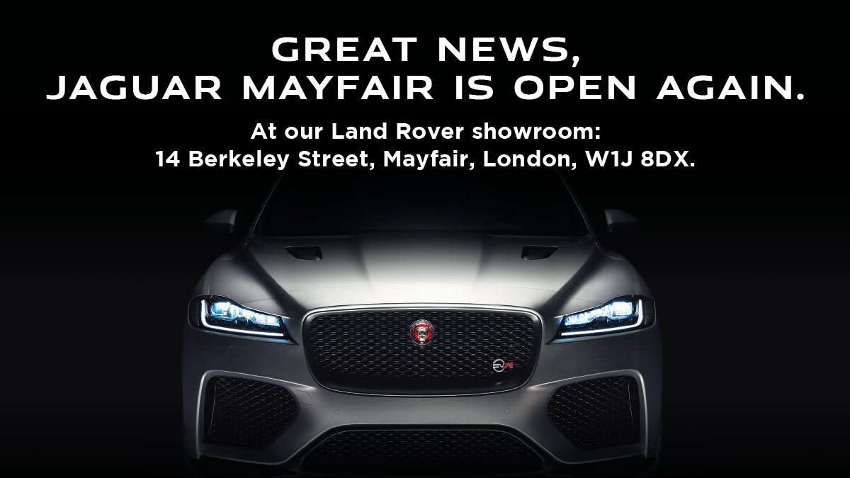 Jaguar Mayfair Relocating
