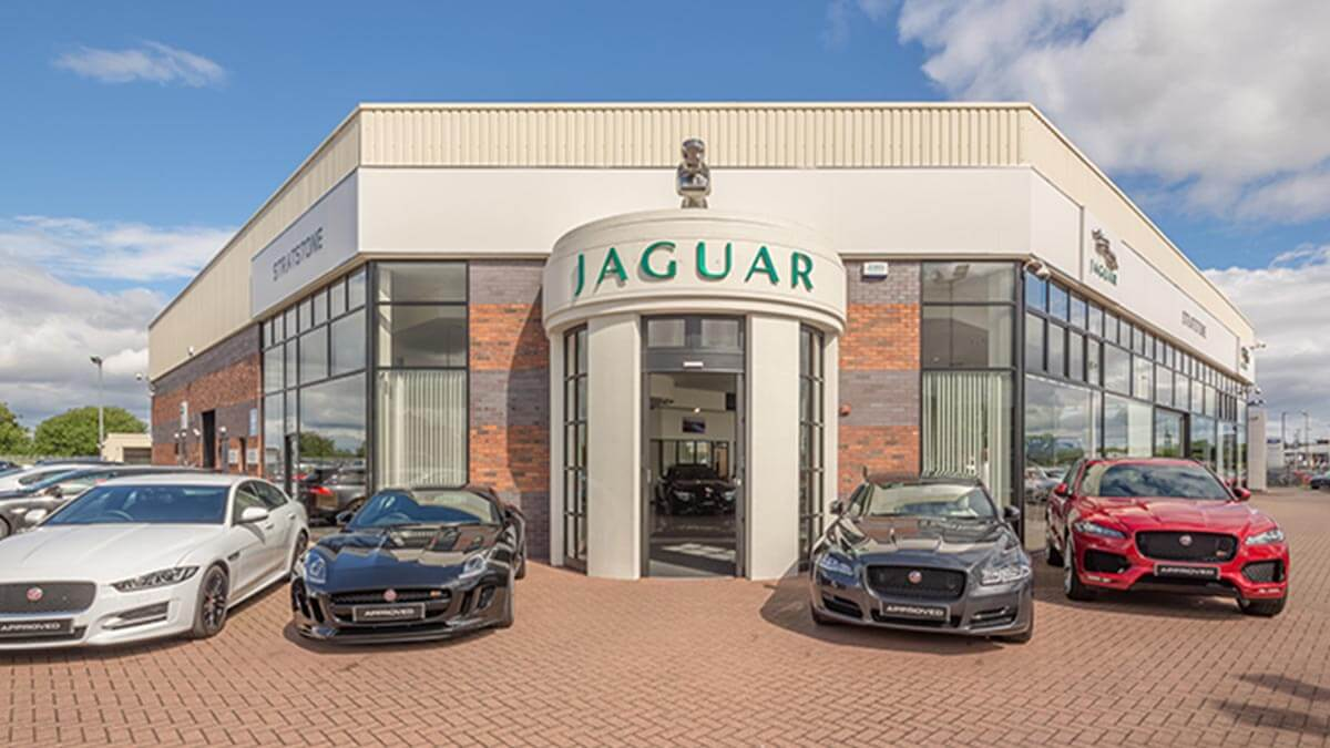 Jaguar Stockton Exterior