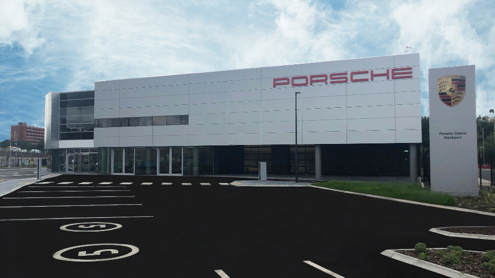 Porsche Centre Stockport Exterior