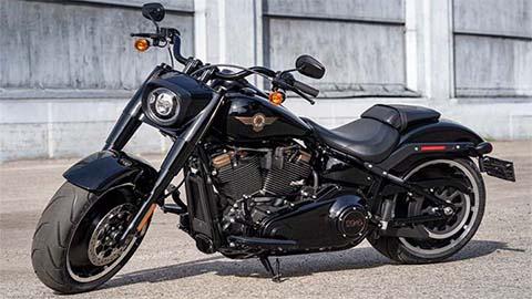 black harley-davidson custom