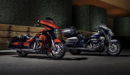 custom harley-davidson bikes