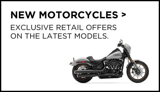 New Harley Davidson Motorcycles.