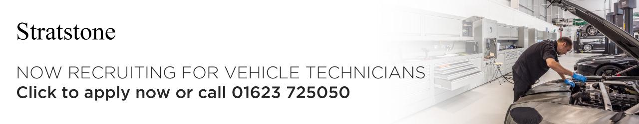Vehicle Technicians job advert.