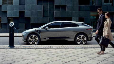 Jaguar I-PACE Charging Side