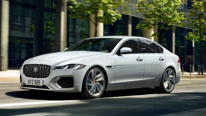 Jaguar XF, Driving, Exterior