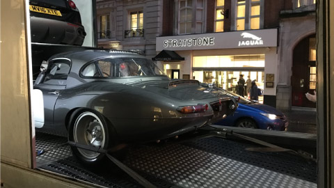 Jaguar E-Type at Berkeley Street