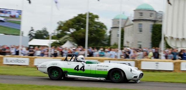 Jaguar E-Type v12.
