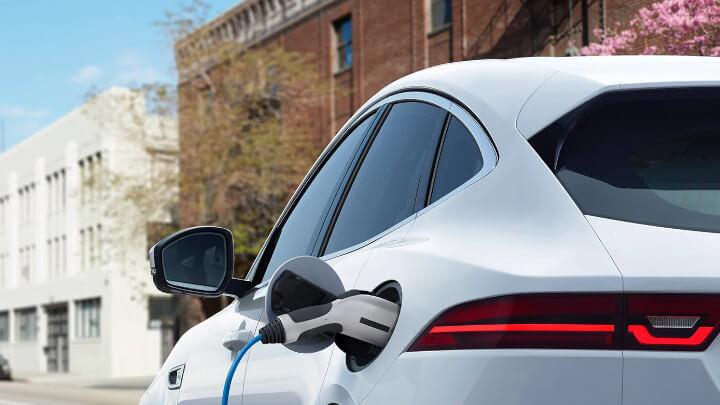 Jaguar E-PACE PHEV Charging