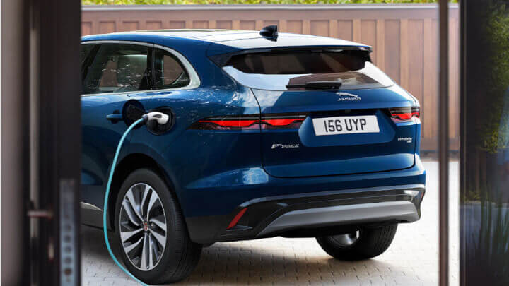 Jaguar F-PACE PHEV Rear