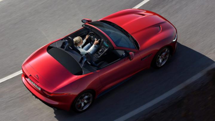 Jaguar F-TYPE Convertible Top