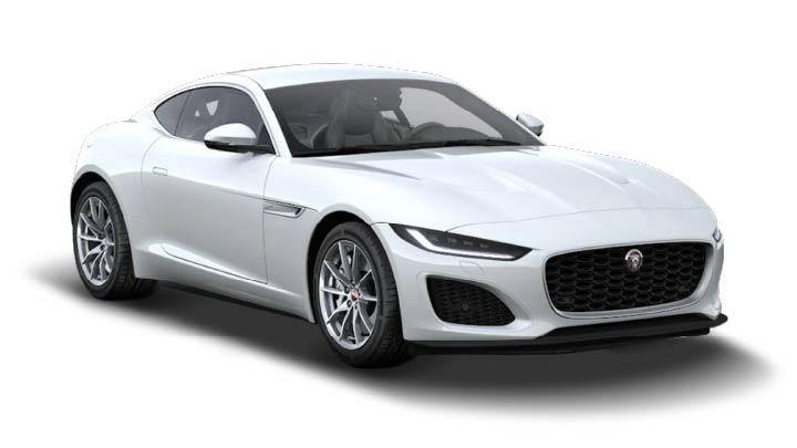 Jaguar F-TYPE Coupe Fuji White