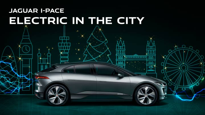 Jaguar I-PACE Electric in the City