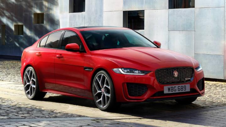 Jaguar XE Exterior, Front, Red