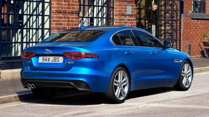 Jaguar XE Exterior, Rear, Blue