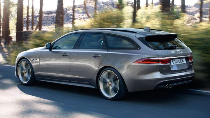 Jaguar XF Sportbrake, Driving