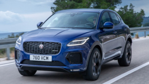 Jaguar E-PACE Driving