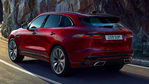 Jaguar F-PACE Rear