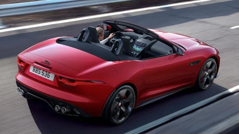Jaguar F-TYPE Convertible, Exterior, Rear