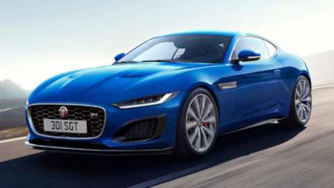Jaguar F-TYPE Front, Driving