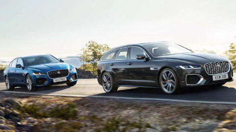 Jaguar XF Sportbrake and Saloon Driving