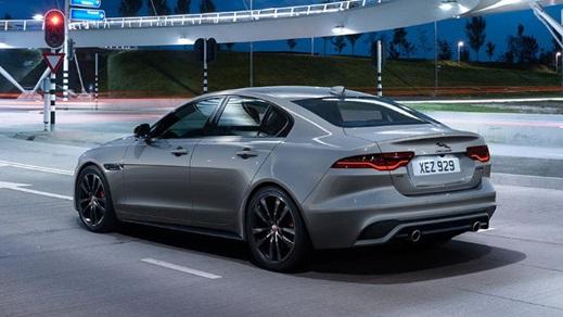 Nearly-New Jaguar Car
