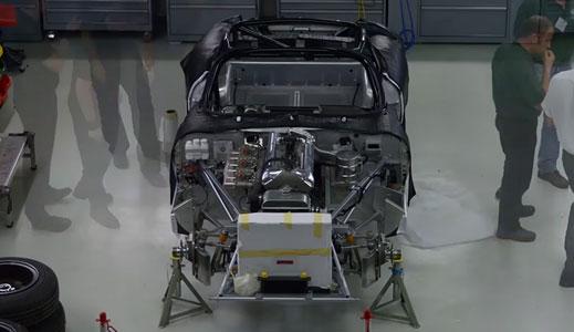 Building the Jaguar Lightweight E-Type.