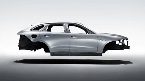 Jaguar F-PACE Lightweight Aluminium Architecture