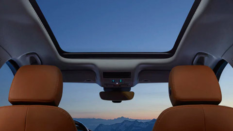 Jaguar F-PACE Panoramic roof