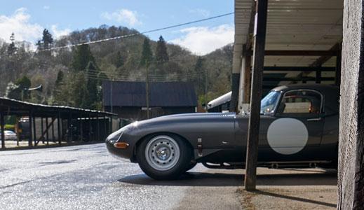 Stratstone's Jaguar Lightweight E-type.