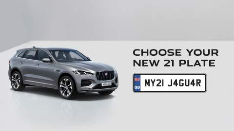 Choose Your New 21 Plate Jaguar