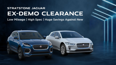 Jaguar Ex Demo Clearance