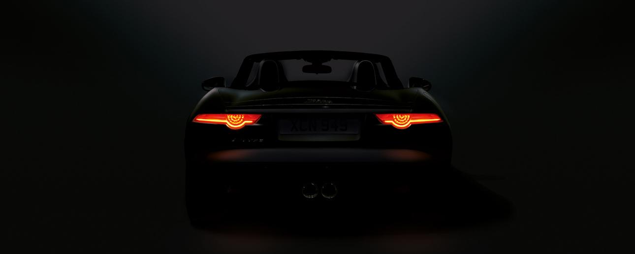 Jaguar rear lights.