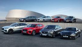 Jaguars lined up.