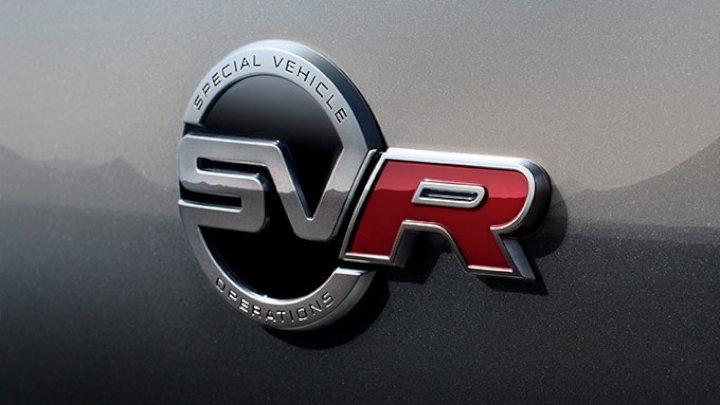 Jaguar SVR Badge