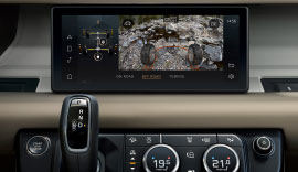New Land Rover Defender with ClearSight Ground View Technology