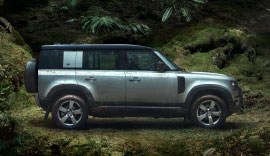 New Land over Defender with Iconic Design